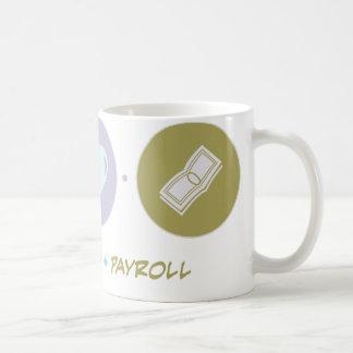 Faith Love Payroll Coffee Mug