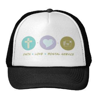 Faith Love Postal Service Trucker Hat