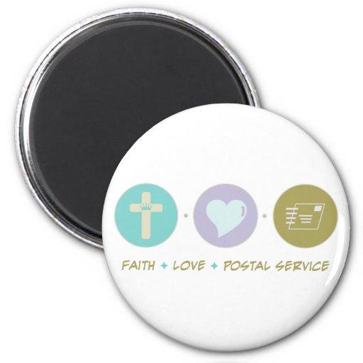 Faith Love Postal Service Fridge Magnets