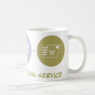 Faith Love Postal Service Coffee Mugs