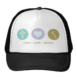 Faith Love Roofs Mesh Hats