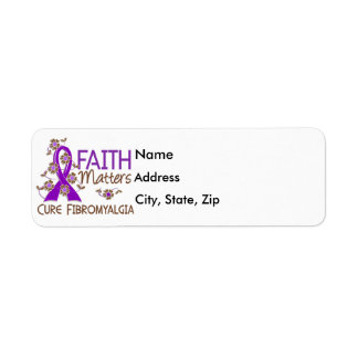 Faith Matters 3 Fibromyalgia Return Address Label