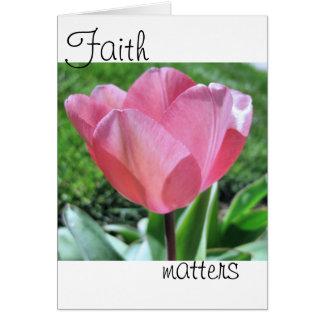 Faith Matters Card