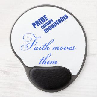 Faith Moves Mountains Christian Mousepad