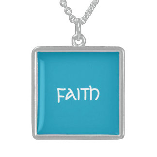 FAITH Necklace Sterling Silver