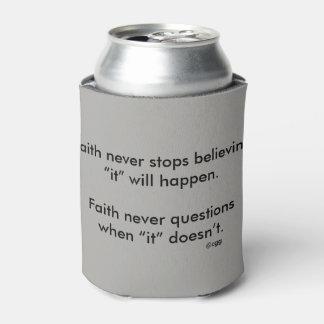 Faith Never Can Cooler w/Grey Flared Cross