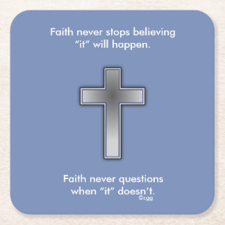 Faith Never Coasters w/Blue cross