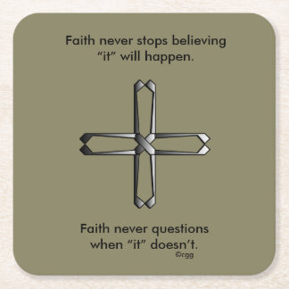 Faith Never Coasters w/Steel cross