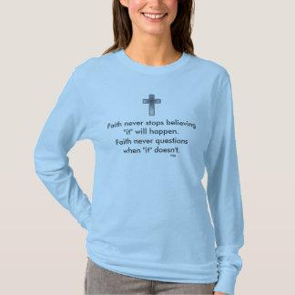 Faith Never Long Sleeve w/Blue Cross T-Shirt
