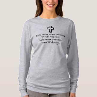 Faith Never Long Sleeve w/Shadow Cross T-Shirt