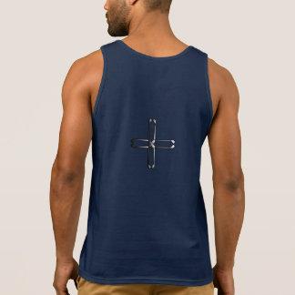 Faith Never Men's Tank Top w/ Steel Cross