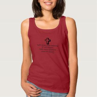 Faith Never Tank Top w/Shadow Cross