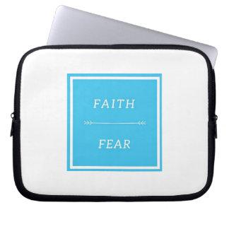 """Faith Over Fear 10"""" Laptop Sleeve"""