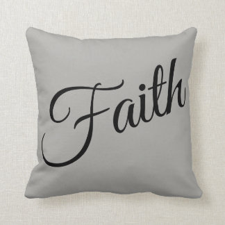 Faith pillow
