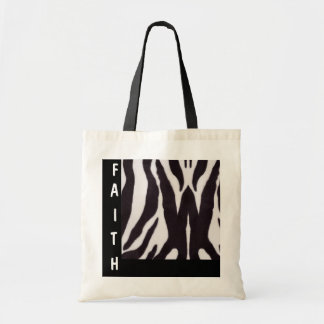FAITH... Religious tote Budget Tote Bag