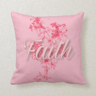 """Faith Throw Pillow (16"""" x 16"""")"""