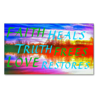 FAITH TRUTH LOVE MAGNET