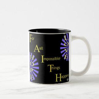Faith Two-Tone Coffee Mug
