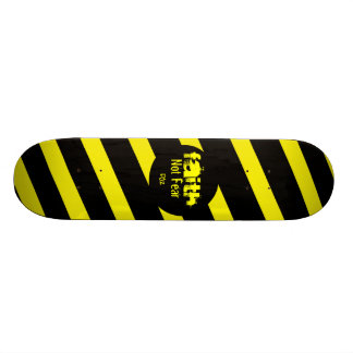 FAITH Zebra Design Skate Board Deck