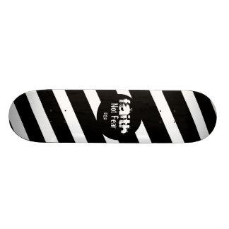 FAITH Zebra Design Skate Decks