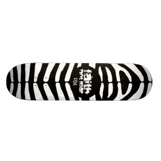 FAITH Zebra Design Skateboard Decks