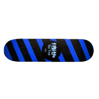 FAITH Zebra Design Skateboards