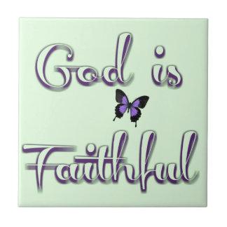 faithful1 small square tile