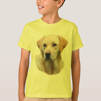 Faithful Friend Yellow Lab Tee for Kids