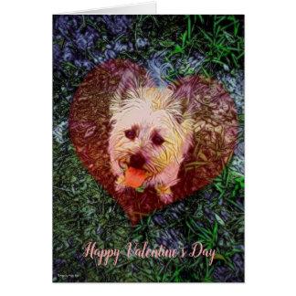 Faithful Love Blank Valentine's Day Card