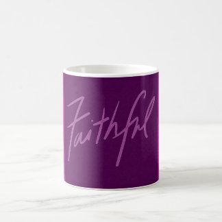 Faithful Purple Mug