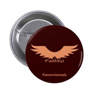 Faithful Wings Button