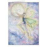 Faith's Leap Fairy Greeting Card