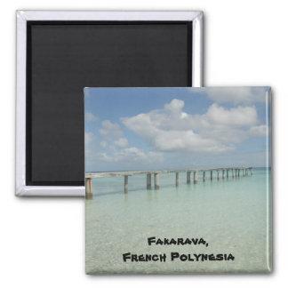Fakarava, French Polynesia Magnet