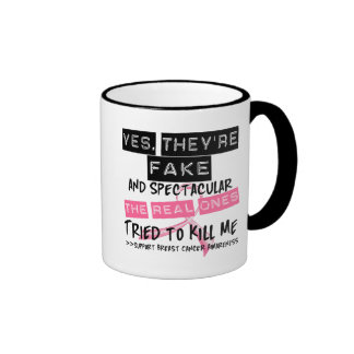 Fake and Spectacular - Real Ones Tried To Kill Me Coffee Mug