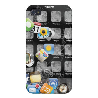 Fake Broken iphone 4 Case For iPhone 4