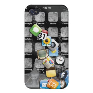 Fake Broken iphone 4 Left Handed iPhone 4/4S Cover