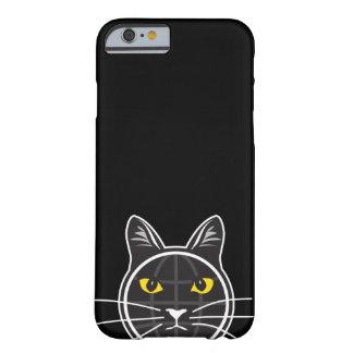 Fake Cat News Tazmo Logo iPhone 6/6s, Case - Black