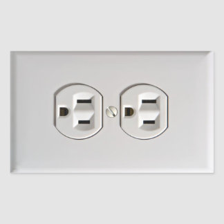 Fake Electrical Outlet Sticker Prank April Fools