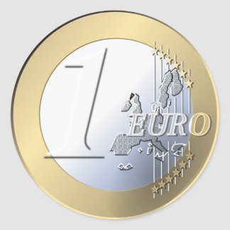 Fake Euro stickers
