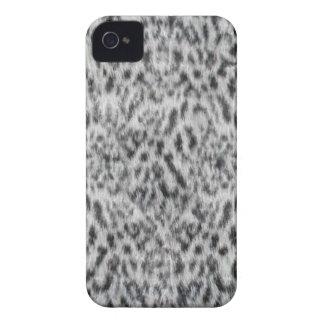Fake Fur Ocelot Pattern Blackberry Case-Mate iPhone 4 Case
