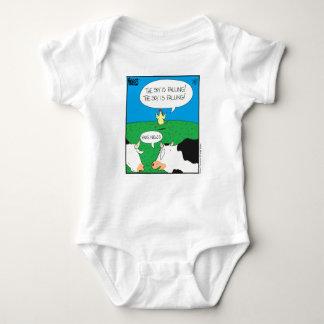 Fake Moos Zazzle Baby Bodysuit