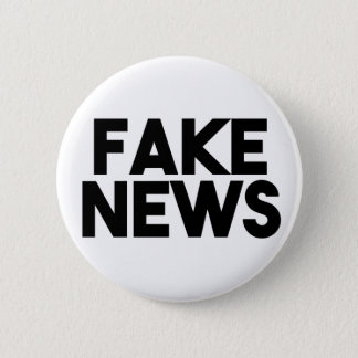 Fake News fashionable Post Truth 6 Cm Round Badge