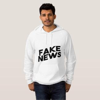 Fake News fashionable Post Truth Hoodie