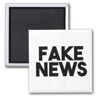 Fake News fashionable Post Truth Magnet