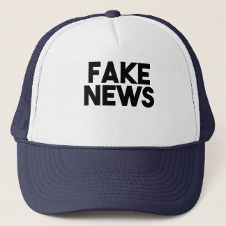 Fake News fashionable Post Truth Trucker Hat