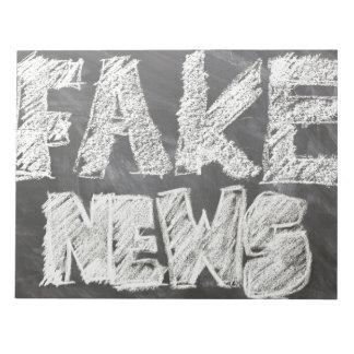 Fake News Notepad
