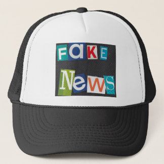 Fake News Trucker Hat