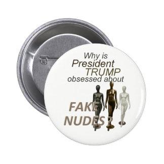 Fake NUDES News 6 Cm Round Badge
