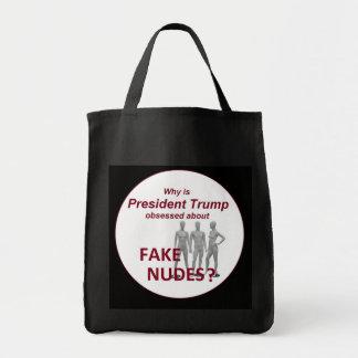 Fake NUDES News Tote Bag