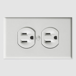 Fake Outlet Prank Sticker
